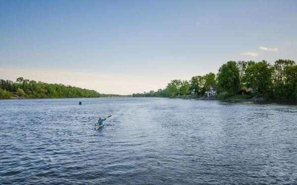 Kayak sur le Richelieu