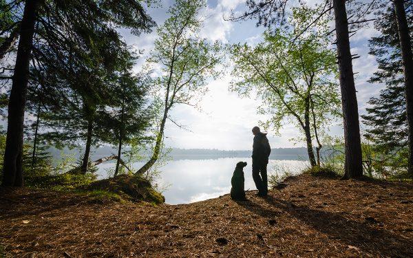 Bromance à Saranac Lake, Adirondacks, NY