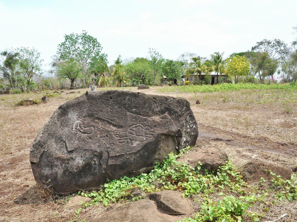 Pétroglyphes représentant une fourmis et une tortue