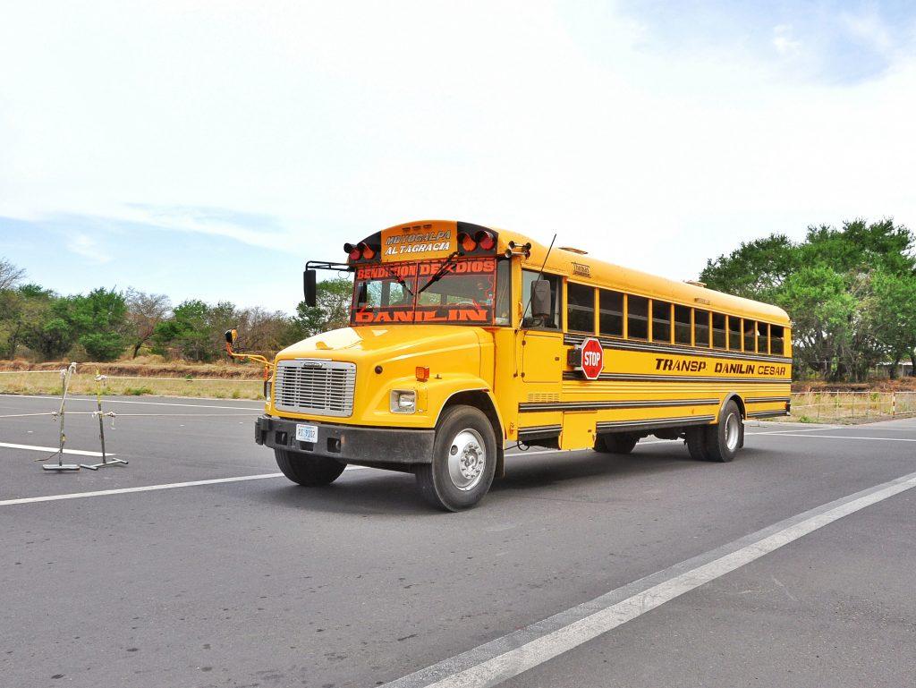 Chicken bus, Nicaragua