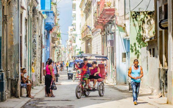 Une rue de la vieille Havane, Cuba