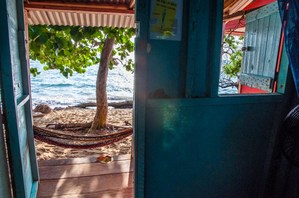 Ma cabana, Little Corn Island