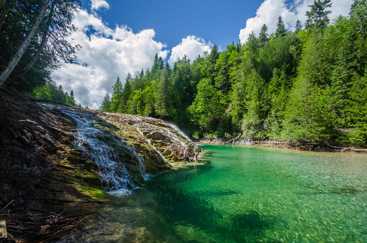 La rivière aux émeraudes