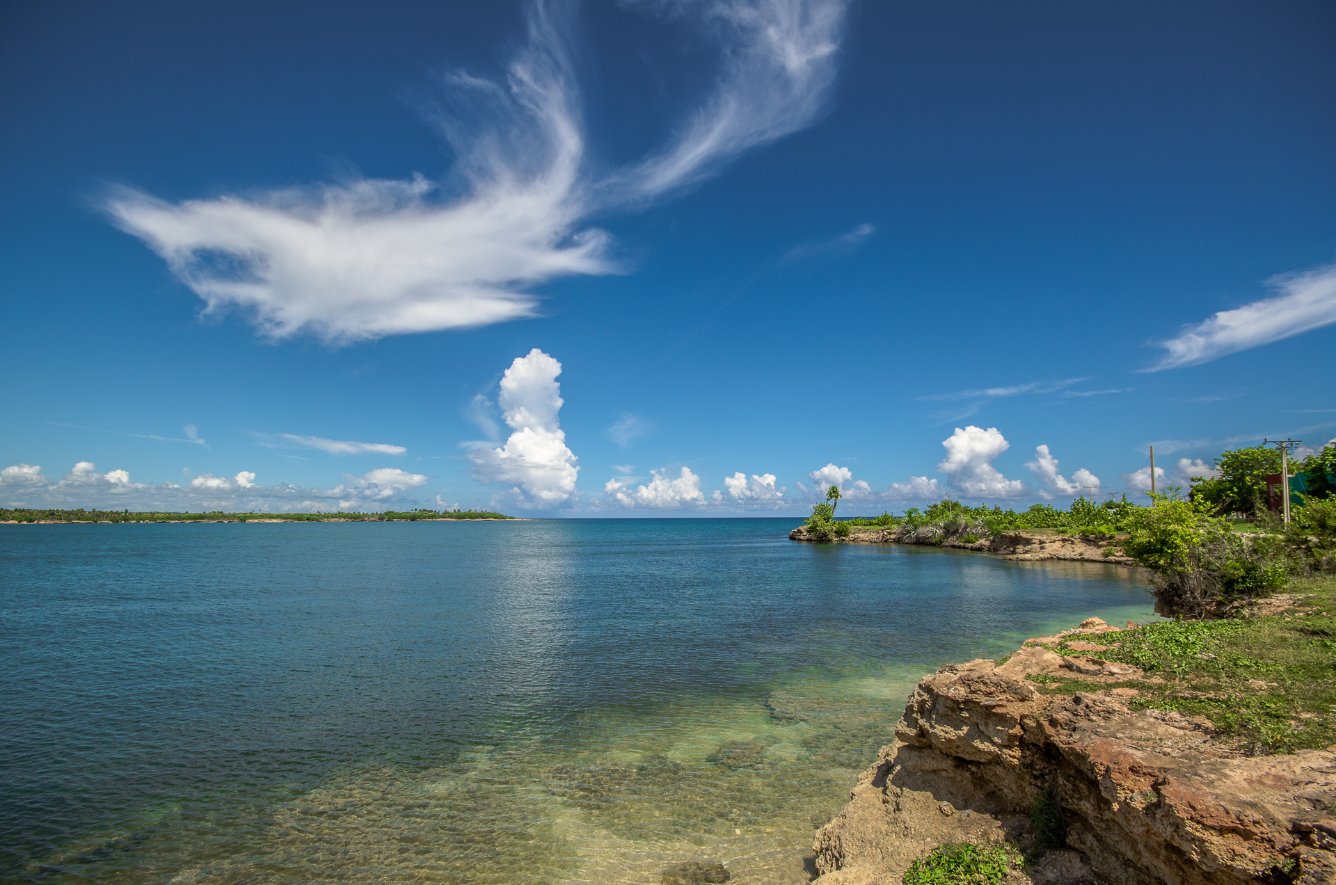 Playa Blanca, Rafael Freyre, Holguin, Cuba
