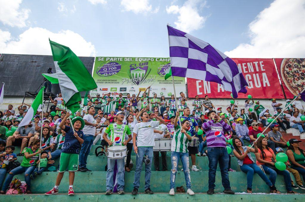 Les fans du Antigua GFC