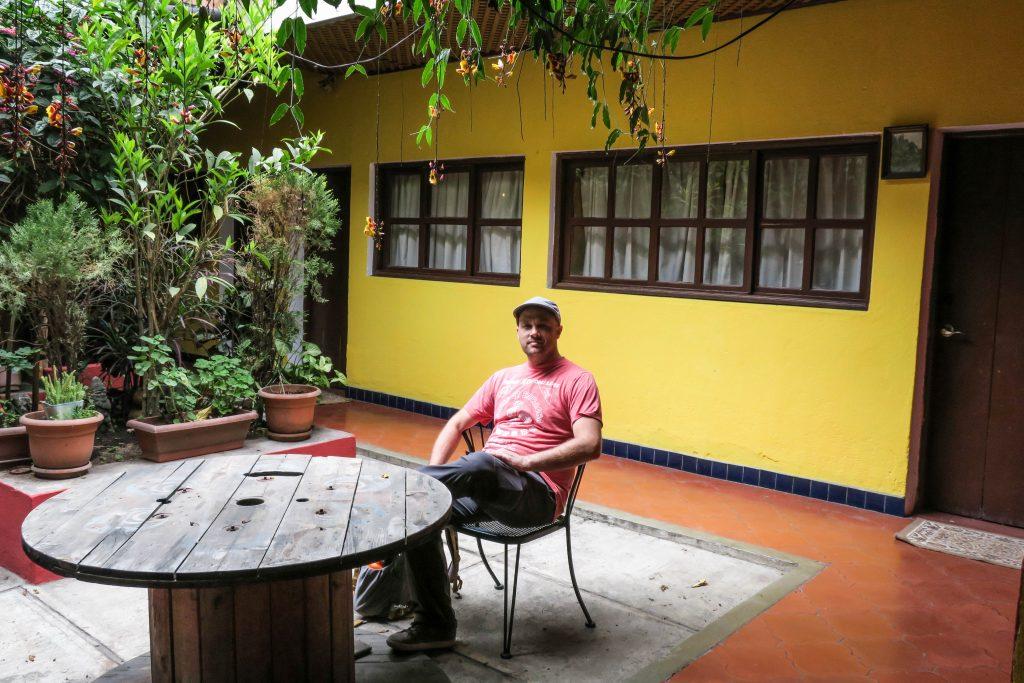 Petit moment relax au Chipilapa guesthouse.