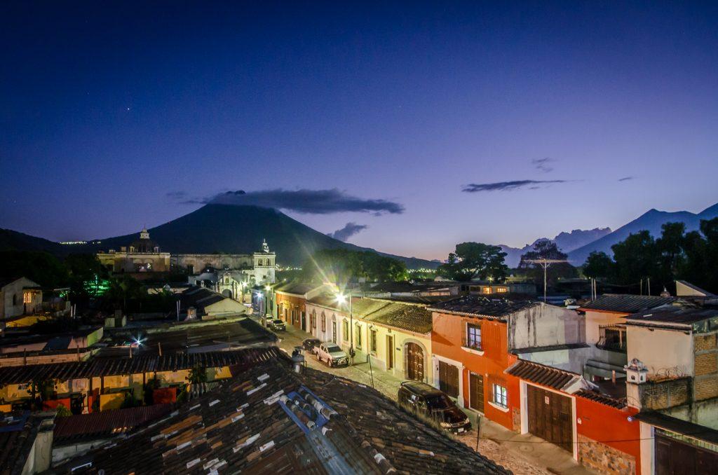 La vue au Café Sky, Antigua